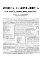 American Railroad Journal June 15, 1850