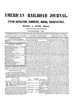 American Railroad Journal June 29, 1850