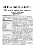 American Railroad Journal July 6, 1850
