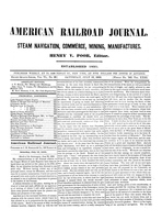 American Railroad Journal July 13, 1850