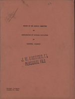 Report of the General Committee on Coordination of Railroad Facilities at Rockford, Illinois