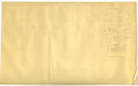 Reverse of Dispatcher Sheet Alabama Division Laurel, MS 1-6-1952
