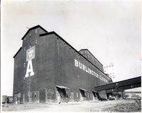 Demolition of the Burlington Grain Elevator
