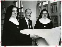Benedictine Sisters Convent-Architect and Benedictine Superiors