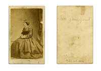 Mrs Gen Grant Carte-de-Viste