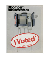 I Voted* Bloomberg Magazine Cover