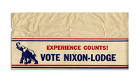 Experience Counts! Nixon-Lodge Paper Cap