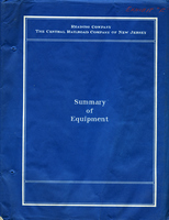 Reading Company, The Central Railroad Company of New Jersey  Summary of Equipment