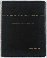 Western Maryland Railway Financial Inspection Trip