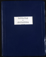 Inspection trip, 1958 - overview for National Federation of Financial Analysts Societies.