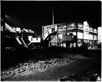 Photo of Carter Carburetor Plant at Night