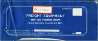 Northern Pacific Railway Equipment - diagrams of freight equipment.