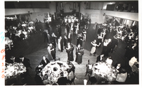 the Crowd Dines and Dances at the Casa-Loma Ballroom