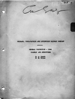 Chicago, Indianapolis & Louisville Railway Company General Inspection 1942