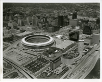 Aerial Picture of Busch Memorial Stadium