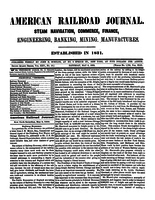 American Railroad Journal May 8, 1869