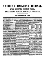 American Railroad Journal May 15, 1869