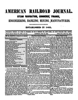 American Railroad Journal May 29, 1869