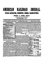 American Railroad Journal May 3, 1851