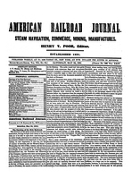 American Railroad Journal May 24, 1851