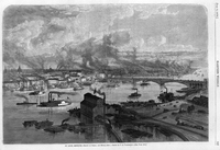St. Louis, Missouri Drawing, Harper's Weekly