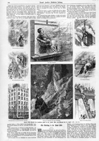 Illustrations of the Southern Hotel Fire in 1877 in St. Louis, Mo