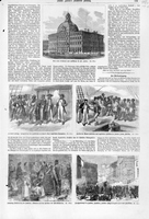 Various Illustrations from Frank Leslie's Illustrated Newspaper