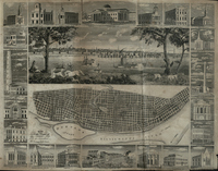 Map and View of St. Louis