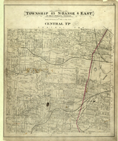 Central Township Map of St. Louis County
