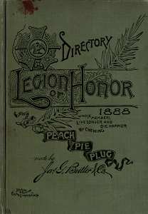 Directory of the Legion of Honor of the City and County of St. Louis