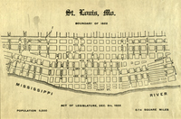 St. Louis, Mo.: Boundary of 1822