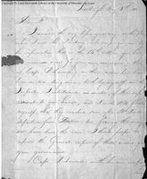 Letter from James Wilkinson to Thomas Hunt, May 6, 1805