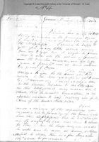 Letter from Zebulon Pike to Captain Daniel Bissell, May 13, 1806