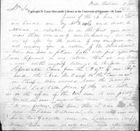 Letter from Zebulon Pike to Captain Daniel Bissell, June 11, 1806