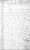 Letter from Governor William Henry Harrison to Captain Daniel Bissell, October 8, 1806