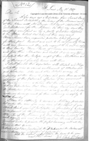 Copy of Letter from William Clark, May 15, 1807