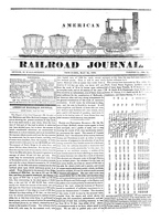 American Railroad Journal, Volume 1, Number 22