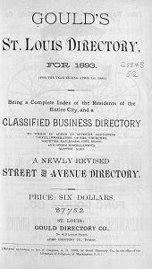 Gould's St. Louis Directory, for 1893 (For the Year Ending April 1st, 1894.)