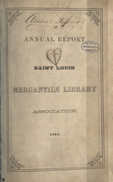Nineteenth Annual Report of the Board of Directors of the St. Louis Mercantile Library Association
