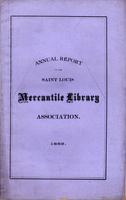 Twenty-Fourth Annual Report of the Board of Directors of the St. Louis Mercantile Library Association