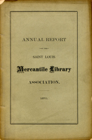Twenty-Fifth Annual Report of the Board of Directors of the St. Louis Mercantile Library Association