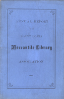 Twenty-Sixth Annual Report of the Board of Directors of the St. Louis Mercantile Library Association