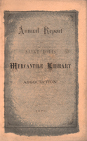 Twenty-Eighth Annual Report of the Board of Directors of the St. Louis Mercantile Library Association