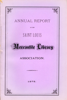 Thirtieth Annual Report of the Board of Directors of the St. Louis Mercantile Library Association