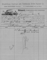 W. A. Johnson Bill of Lading
