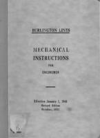 Mechanical Instructions for Enginemen