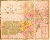 Map of the State of Missouri and Territory of Arkansas