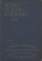 Gould's Blue Book, for the City of St. Louis. 1903