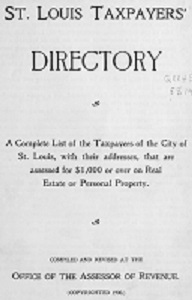 St. Louis Taxpayers' Directory